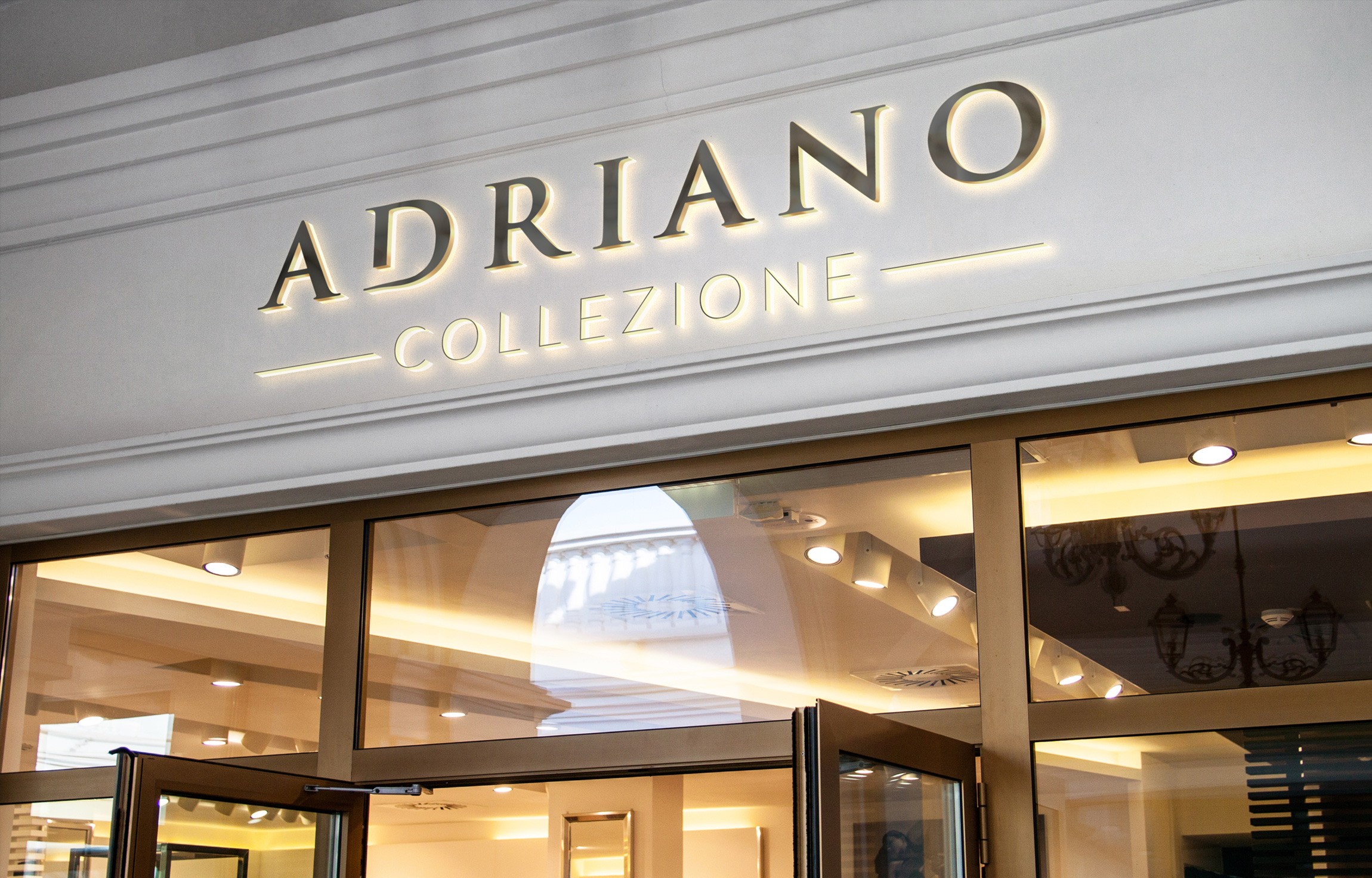 Projekt logo Adriano